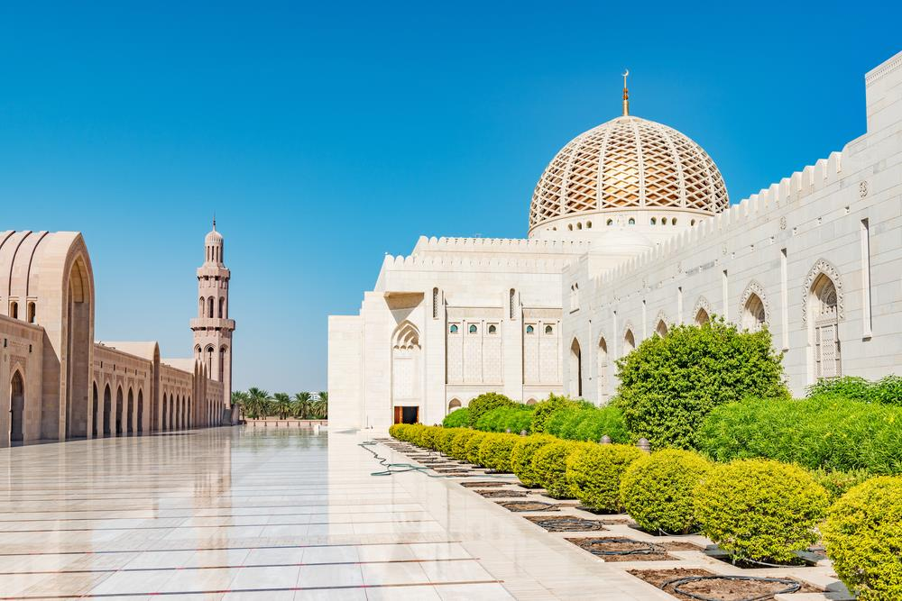 Sultan Qaboos Grand Mosque - Muscat