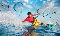 Egypt Hurghada - El-Gouna, Kite-surfing