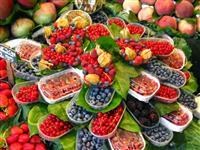 Fructe in La Boqueria