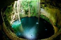 Ik-Kil Cenote, Mexic