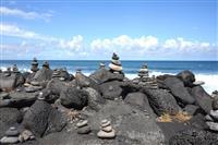 Plaja cu pietre