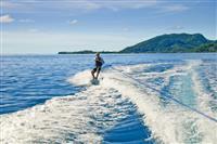 Water ski in Polinezia Franceza