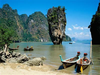 Excursie in golful Phang Nga