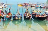 Koh Samui - Sat de pescari