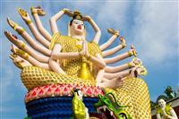 Koh Samui - Wat Plai Laem Temple